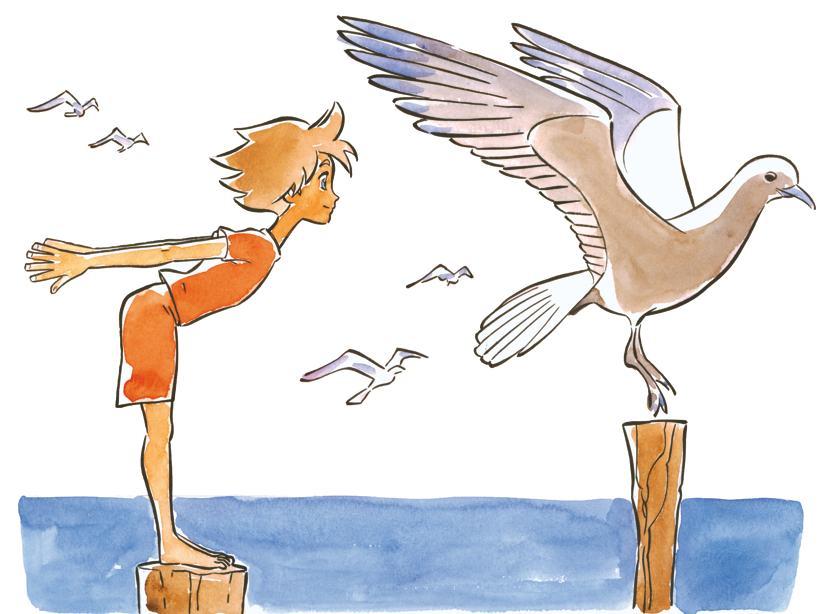 Volare Come Un Gabbiano Yoga Journal