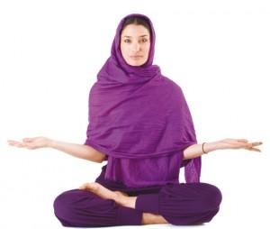 Yoga nellle mani