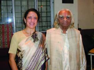 Gabriella Giubilaro con Iyengar