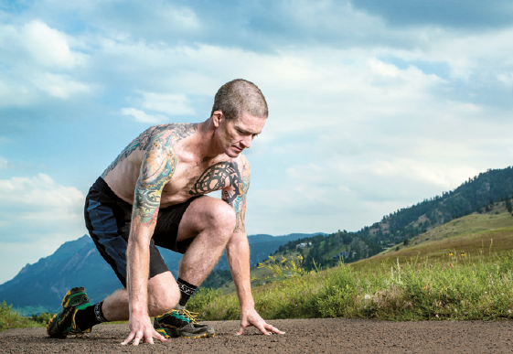 yoga e trail running Agile come uno stambecco