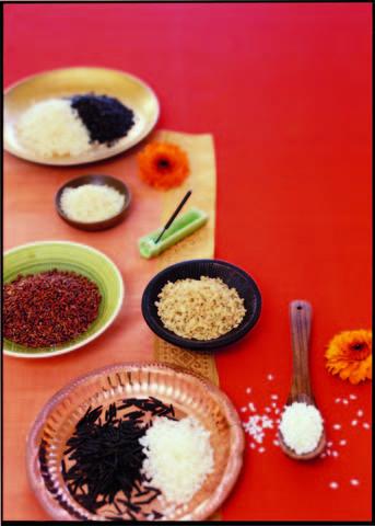 Chicchi di sapore riso