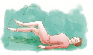 Yoga e Salute - movimento Gambe