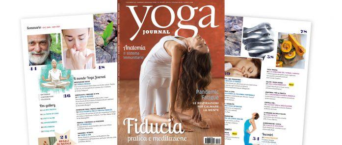 Rivista Yoga Journal dicembre/gennaio
