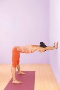 prasarita padottanasana giù la testa  yoga journal